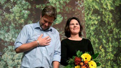 Kantar-Umfrage: Grüne legen zu, SPD verliert