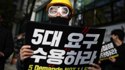 Die Hongkonger Demonstranten sind die wahren Krieger der sozialen Gerechtigkeit
