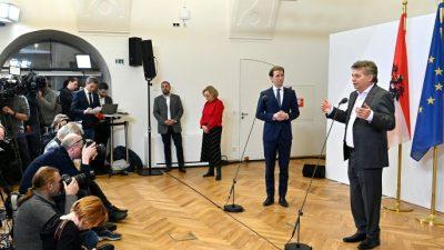 """Sebastian Kurz zu Türkis-Grün: """"Klima und Grenzen schützen"""" – Kopftuchverbot mit Kampf gegen Rechts erkauft?"""