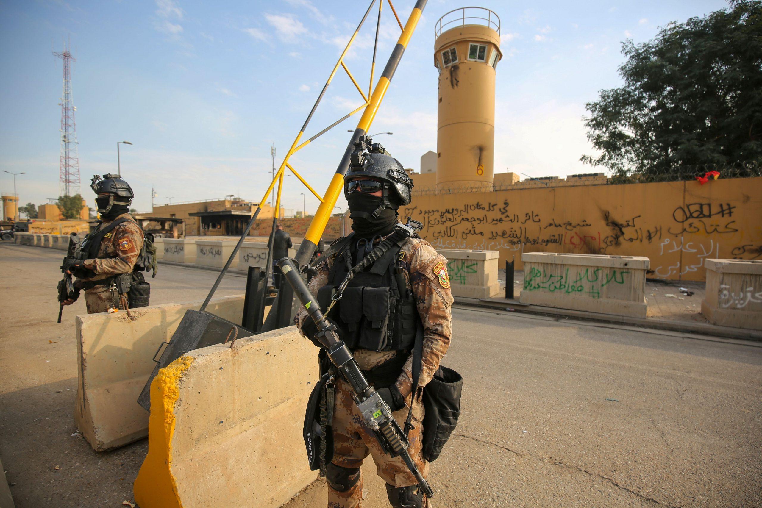 Raketeneinschlag nahe der US-Botschaft in Bagdad
