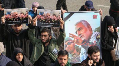 Irak: Ohne Soleimani steigen Chancen, dass das Land sich gegen iranische Einflüsse wehren kann