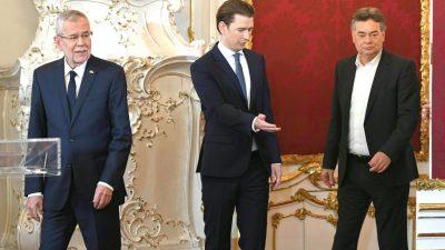 """Österreich: Katzenjammer an der Grünen-Basis – kein """"Systemwechsel"""", Kammerrat fühlt sich """"verhöhnt"""""""