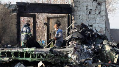 Absturz der ukrainischen Boeing 737 – Pilot gab kein Notfallsignal ab – Iran will Blackbox nicht auswerten