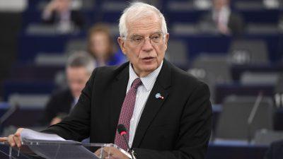 """Josep Borrell fordert """"robustere Strategie"""" der EU gegen Peking"""