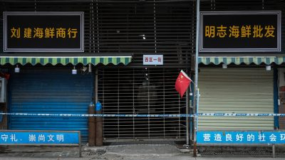 Coronavirus kam bereits durch eine Übertragung von Mensch zu Mensch auf den Markt in Wuhan