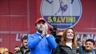 Patt in Italien: Linke hält historische Hochburg – Salvini und die Rechte triumphiert in Kalabrien