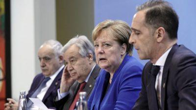 Libyen-Gipfel: Merkel und Maas sprechen von Erfolg – in der Region selbst überwiegt die Skepsis