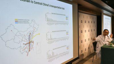 Schon 291 Infizierte und sechs Todesfälle durch neuartiges Virus in China