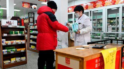 China warnt vor möglicher Mutation von neuartigem Coronavirus