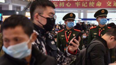 Lungenkrankheit: China riegelt jetzt die vierte Stadt ab