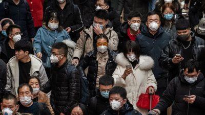 Experten: Potenzielle Ausweitung des Coronavirus viel höher als bisher angenommen