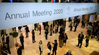 Plastik-Kaffeekapseln, laufen gelassene Wasserhähne: Profanes hinter den WEF-Kulissen von Davos