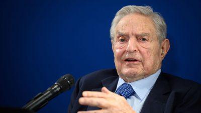 """USA: """"Philanthrop"""" Soros will mit 220 Millionen US-Dollar Projekte für """"Rassengerechtigkeit"""" unterstützen"""