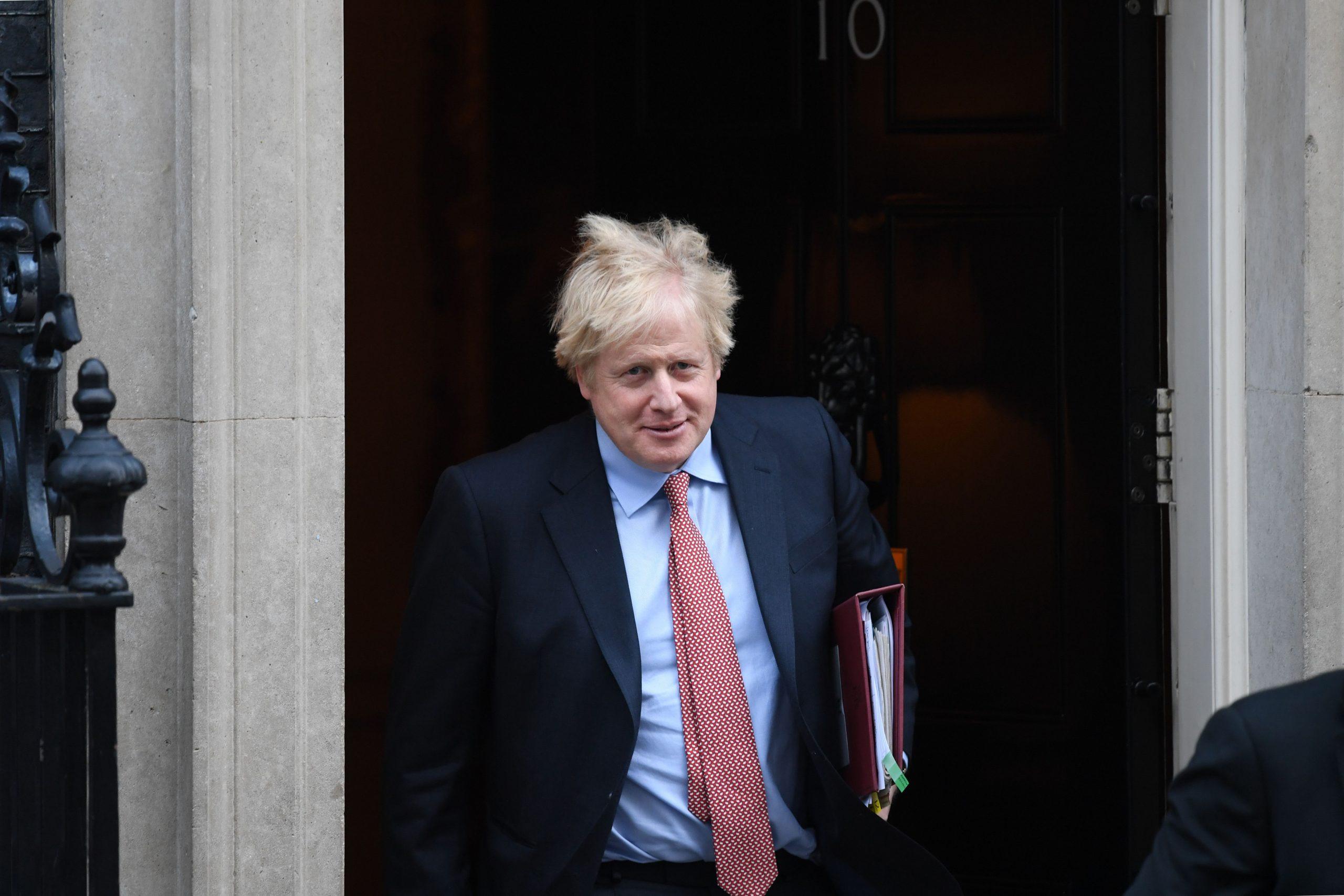"""""""Es gibt keine Alternative"""": Britischer Premierminister verkündet nationalen Lockdown"""