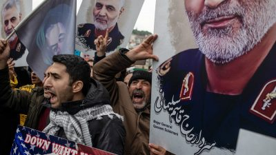 """Trauer um """"Märtyrer"""" Soleimani in Berlin – Stadt sieht keine Handhabe gegen Terrorverherrlichung"""