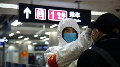 Coronavirus NEWSTICKER 27. Januar: USA raten wegen Coronavirus von Reisen nach China ab