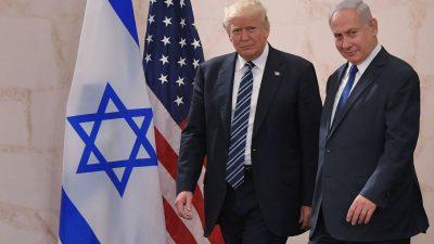 Netanjahu: Trumps Nahost-Friedensplan bietet historische Chance