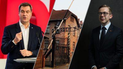 Söder und Amthor warnen vor Antisemitismus in Deutschland