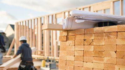 Bauen mit Holz statt Beton kann Städte in globale CO2-Senken verwandeln