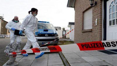 Drei Tote bei Düren: Mann tötete zwei Frauen und sich selbst