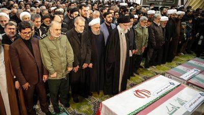 Beisetzung des bei einem US-Angriff getöteten iranischen Generals Soleimani