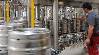 Frisch gezapft: Bier in deutschen Gaststätten wird bald teurer