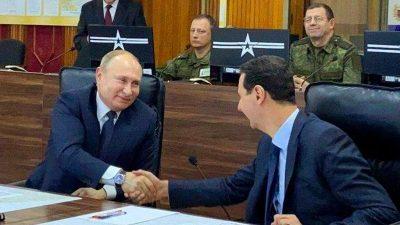 Putin besucht überraschend Machthaber Assad in Syrien – Militärexperte: Moskau bietet dem Irak Luftabwehrsystem an