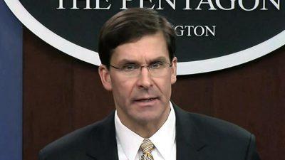 US-Verteidigungsminister: Pentagon plant Marine mit mehr als 500 Schiffen zur Bekämpfung Chinas