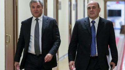 Russlands Regierungschef mit Corona infiziert