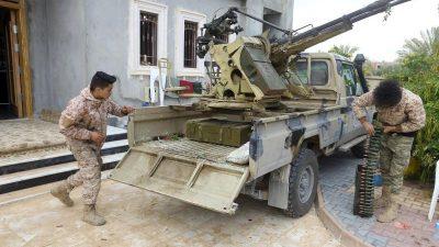 Wieder Eskalation von Libyen-Konflikt