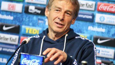DFB und DFL erkennen Klinsmanns Trainerlizenz an