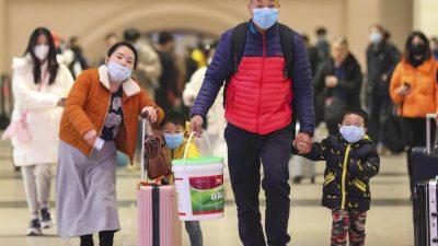 Wegen Virus: China stoppt Verkehr aus Wuhan – Reaktionen in Europa