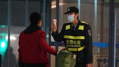 Angst vor Lungenkrankheit: Peking warnt vor Mutation des Virus und noch schnellerer Ausbreitung