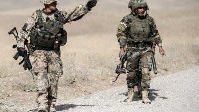 Nordirak: Bundeswehr nimmt Ausbildung der Kurden wieder auf