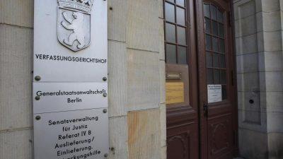 Berliner Staatsanwaltschaft erhebt Anklage wegen Mordes an Fritz von Weizsäcker