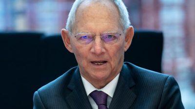 """""""Mehr gegen Antisemitismus tun"""": Wolfgang Schäuble vor Rivlin-Besuch in Berlin"""