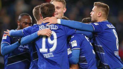 Bielefeld baut Tabellenführung mit Sieg gegen Bochum aus