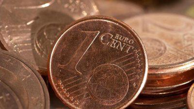Vorschlag zur Abschaffung von Cent-Münzen löst Diskussionen aus