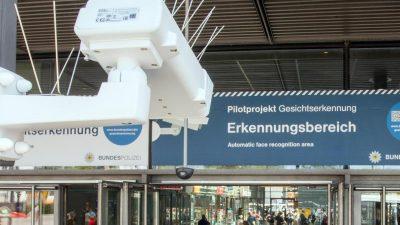 Gesichtserkennung heute im Bundestag: Polizei speichert 5,8 Millionen Fotos