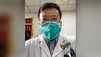 Trauer und Wut in China: Der Arzt, der als allererstes warnte, ist am Coronavirus gestorben
