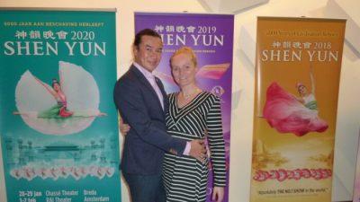 Gleichgewicht von Yin und Yang: Tänzer-Ehepaar bewundert Hingabe von Shen Yun-Künstlern