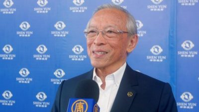 """Ehemaliger Abgeordneter: """"Die Tugenden von Shen Yun brauchen wir heute"""""""