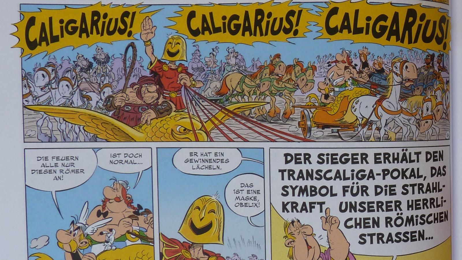 Asterix Wagenlenker