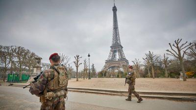 """Frankreich: Ex-Generäle warnen vor """"Bürgerkrieg"""" durch Linke und Islamisten"""