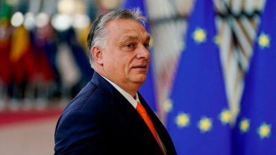 Orban will mit Merkel und Kramp-Karrenbauer über weitere EVP-Mitgliedschaft seiner Fidesz-Partei reden