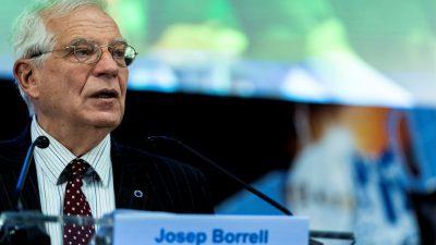 EU-Außenbeauftragter reist zu Gesprächen mit iranischer Führung nach Teheran