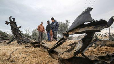 Eskalation: Attacken aus Gaza und Gegenangriffe Israels