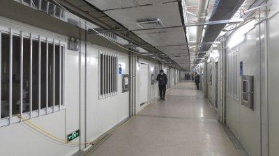 "Gefangene Patienten? Neues Turbo-Krankenhaus in Wuhan wird ""Militärgeheimnis"""