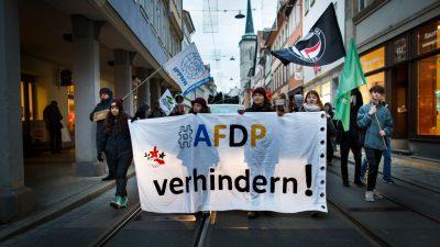 """AfD-Politiker zu Thüringen: """"Hemmungslose Nazi- und Faschisten-Diffamierungsorgie gegen AfD"""""""