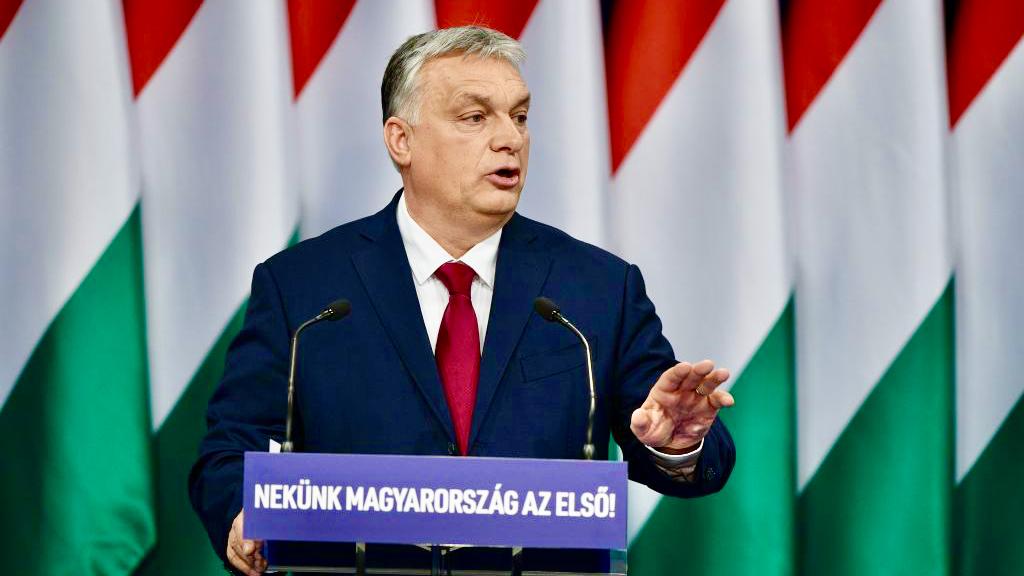 """Orbán in seiner Rede an die Nation: """"Heute wissen wir, dass wir die Zukunft Europas sind"""""""